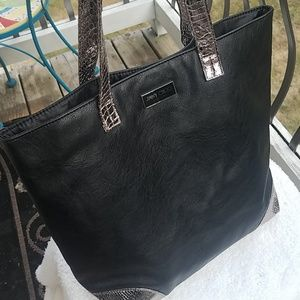 Jimmy Choo Parfums Tote - Black & Metallic